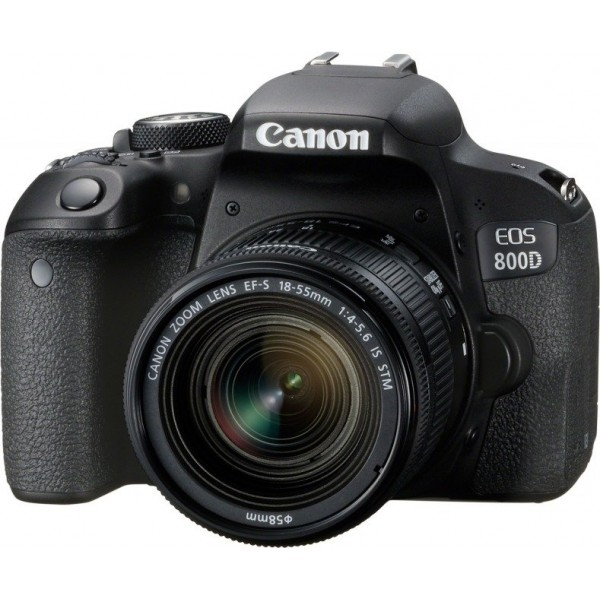 Canon EOS 800D Kit + EF-S 4,0-5,6/18-55 IS STM