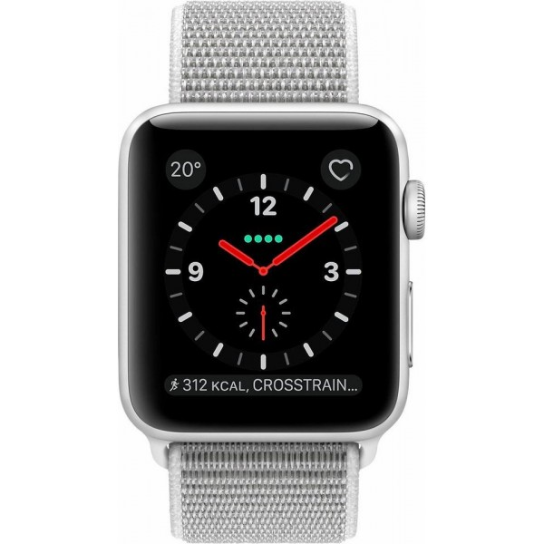 Apple Watch Series 3 LTE Aluminium Silver Sport Loop 38mm