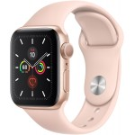 Apple Watch Series 5 GPS 44mm Alu Case Gold Pink Sport Band