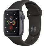 Apple Watch Series 5 GPS 44mm Alu Case Grey Black Sport Band