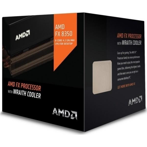 Επεξεργαστής AMD FX-8350 (Wraith Cooler) FD8350FRHKHBX